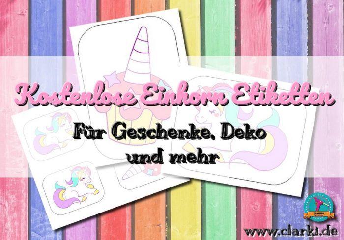 Diy Kostenlose Einhorn Etiketten Zum Downloaden Unicorn Free Printable Ausdrucken Kartenvorlage Geschenkanhanger Karte Vorlagen