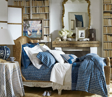 The Ralph Lauren Home collection is available through Seaside Home ...