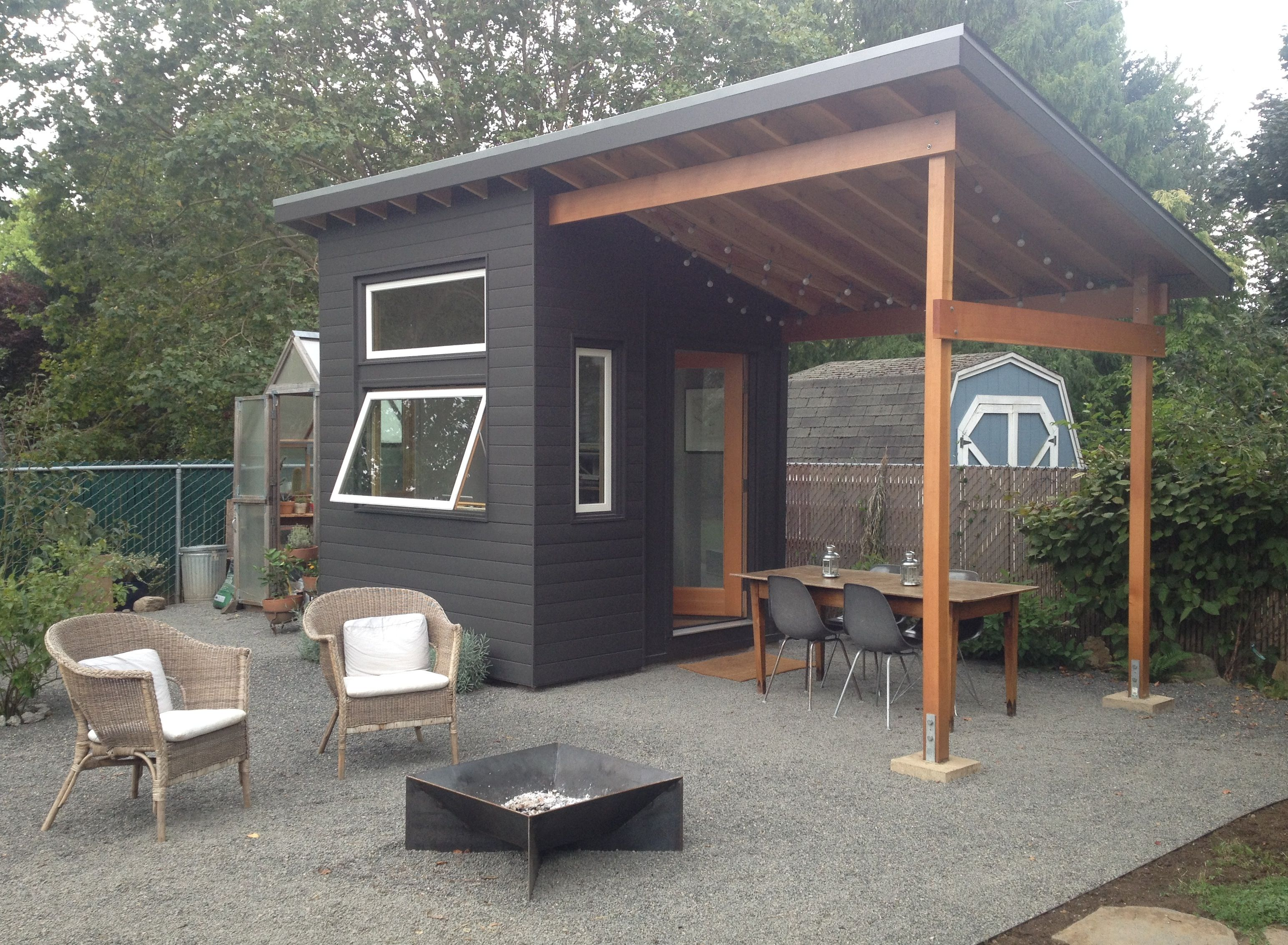 This shed from Costco costs $1000 00 and is 10 x 7 5 The patio is