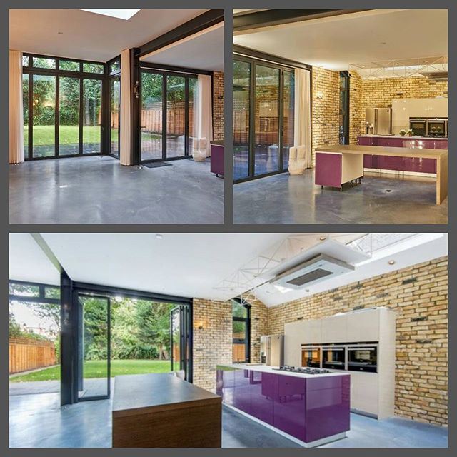 Stunning interiors courtesy of the Bi-Fold Door Factory Ltd ...