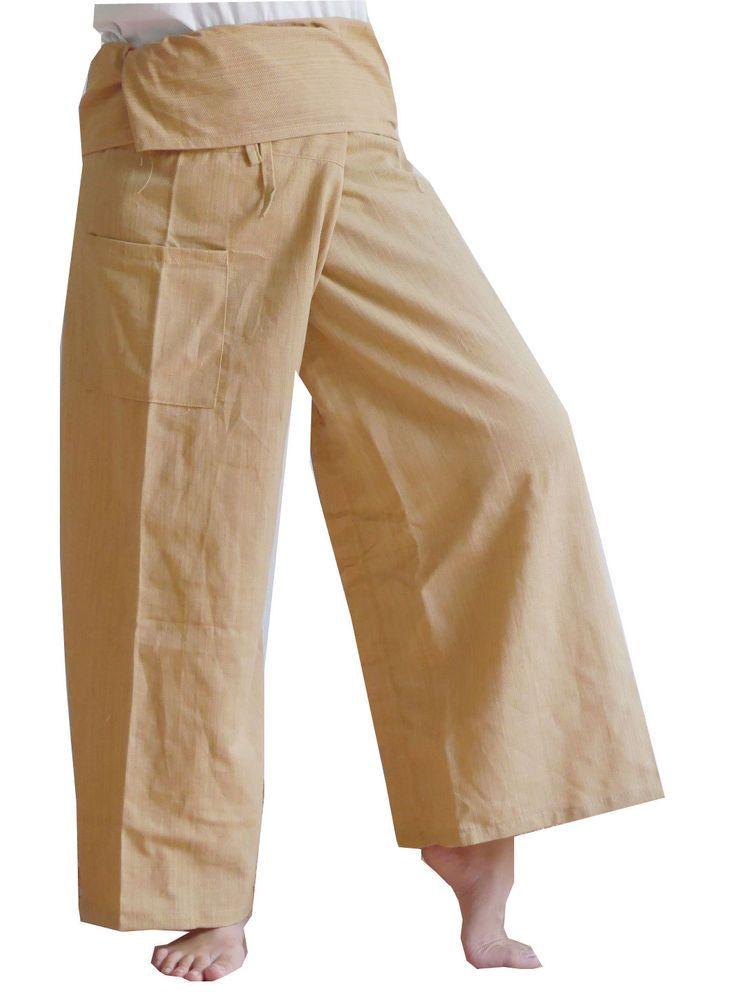 0f24cd52d8 Arika's Thai Fisherman Pants Yoga Trouser Free Plus Size Ivory Stripe  Cotton #Arika #CasualPants