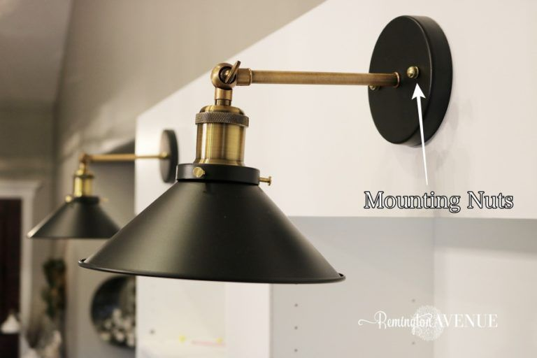 How to convert hard wired light fixtures into a plug in in ... on Sconces No Electric Plug id=56195