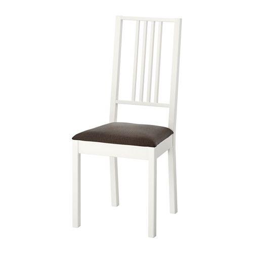 Ikea BÖrje, Stol, , Stoppad Sits Förökad Sittkomfort Klädselnär Enkel Att Ta Av Och Sätta På