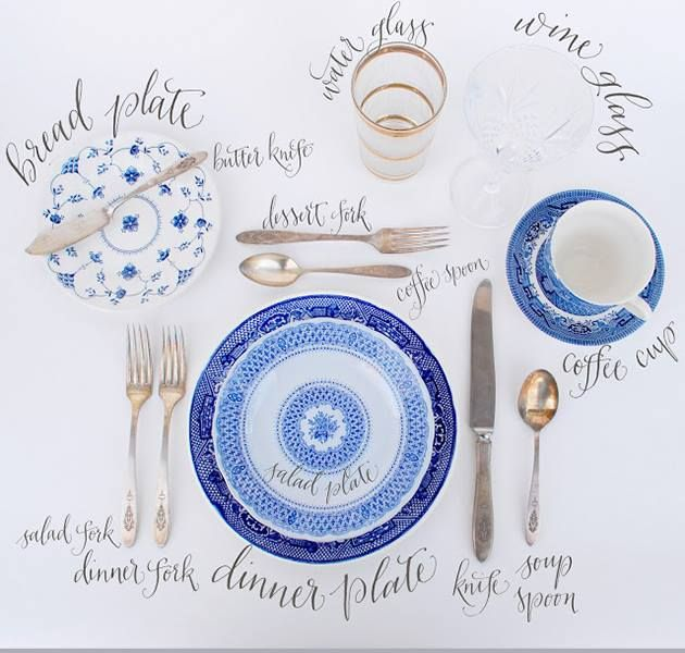 Correct table place setting - I always forget this. P  sc 1 st  Pinterest & Correct table place setting - I always forget this. :P   Party Time ...