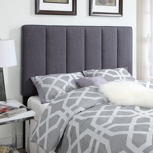 Found it at Wayfair - Upholstered Headboard | small apartment tips ...