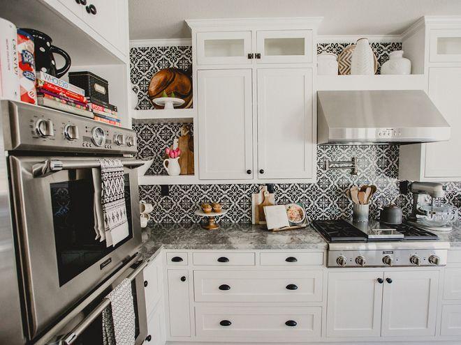 farmhouse kitchen cement tile merola