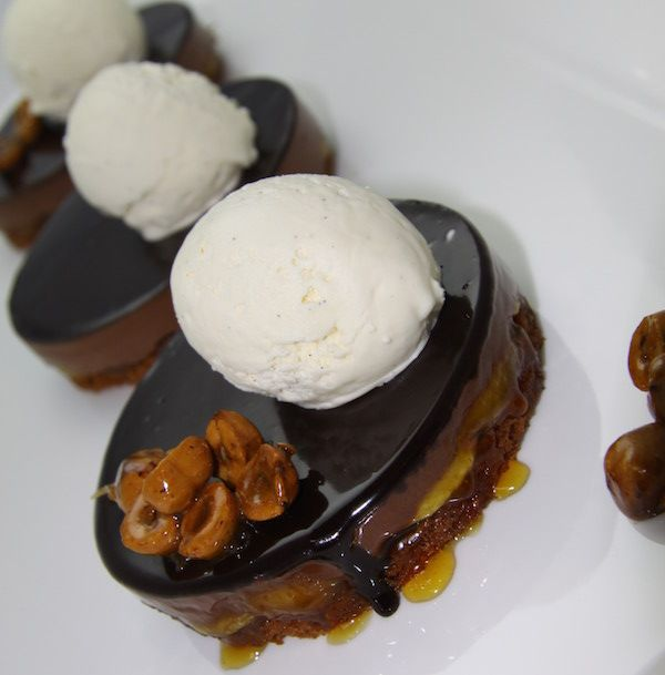 Tim Clark has us drooling over this Caramelised Banana and Chocolate Tart. Delectable flavour combo, and a perfect dessert all year round. Tim has done it again! That ooziness has our mouth watering already.
