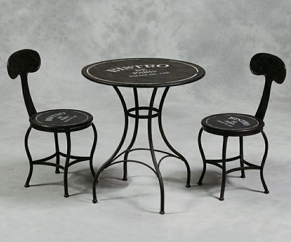 Surprising Fantastic Bistro Table And Chairs Furniture Bistro Table Short Links Chair Design For Home Short Linksinfo