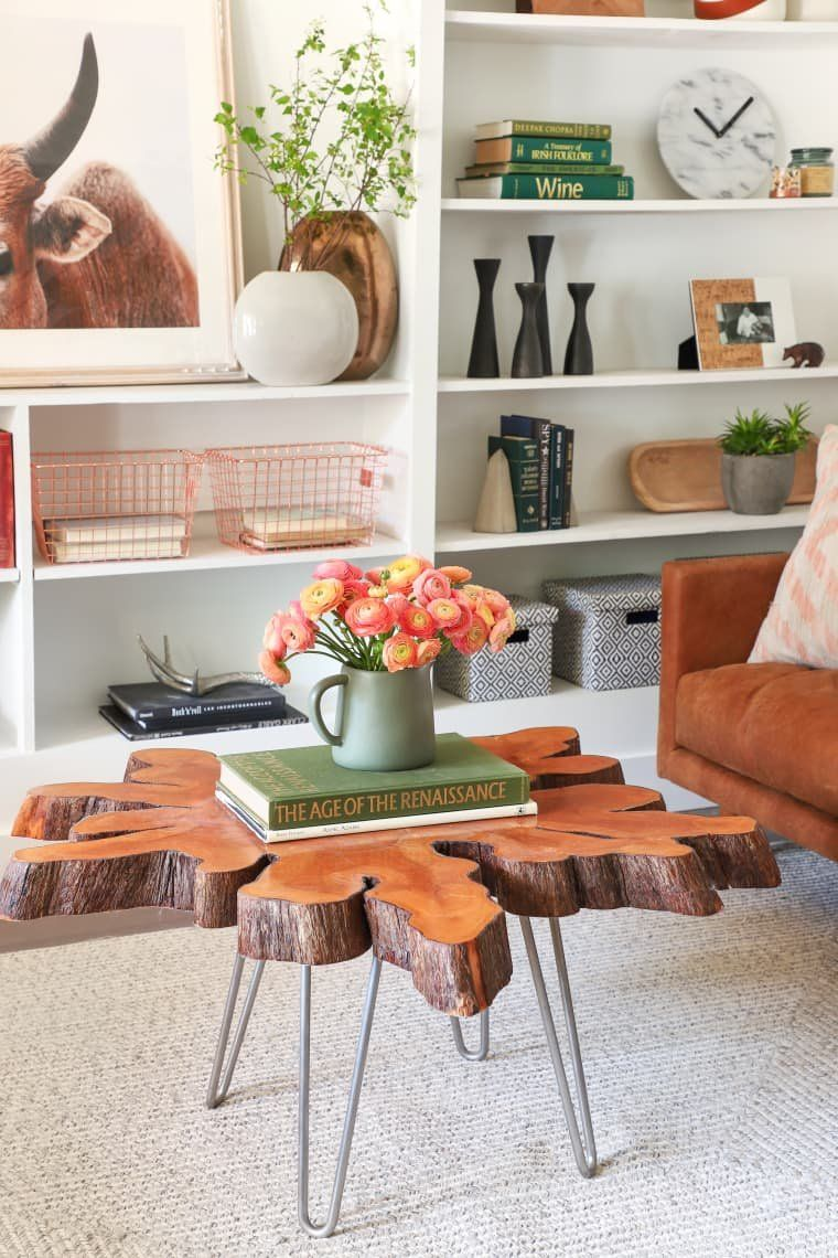 How to Style Your Coffee Table So You Can Actually