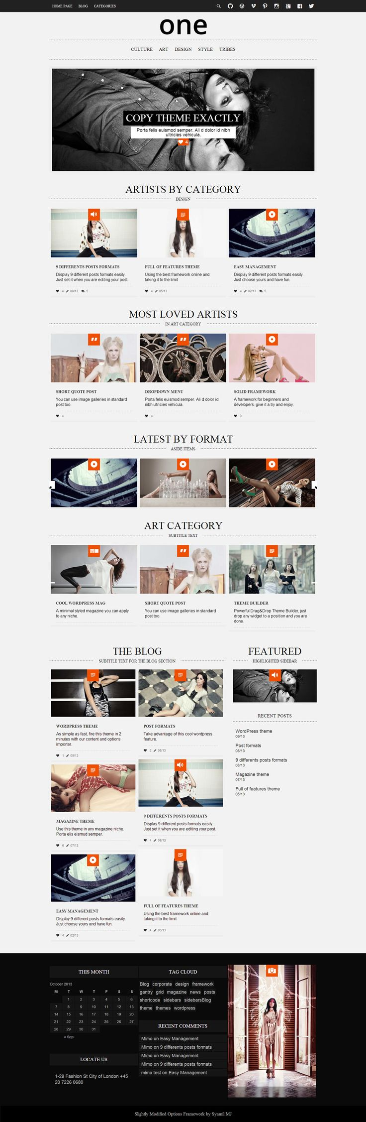 Responsive Web Design Wordpress Theme Find More On The Responsive