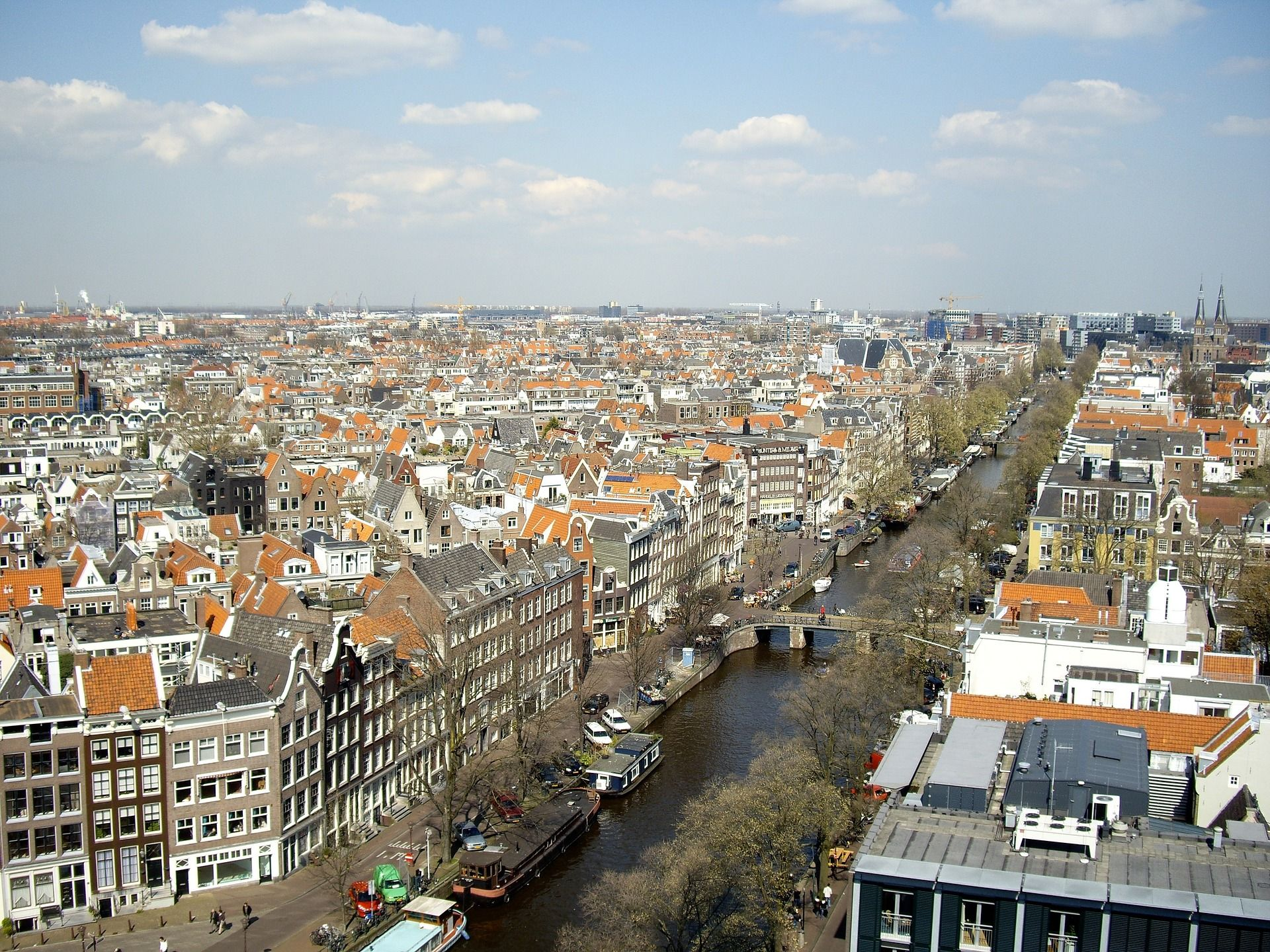From Several Bars You Will Have A Great Panoramic View Over Amsterdam For More Info About The Best Bars In Amsterdam Travel Netherlands Travel Amsterdam City