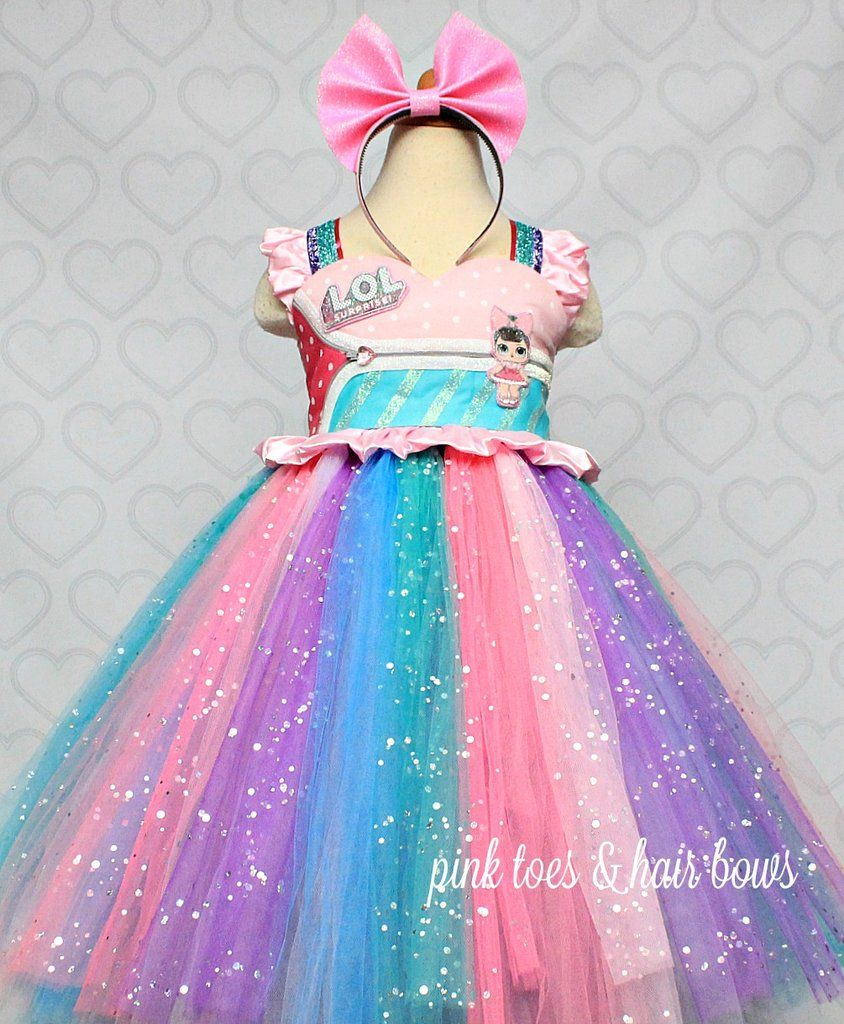 8b38eaa1a Lol Surprise Doll Dress- Lol Surprise Dress-Lol Doll Dress-Lol tutu Dress