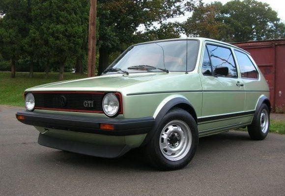 Earliest Around 1979 Euro Vw Gti Volkswagen Golf Mk1 Golf Gti Mk1 Volkswagen Golf Gti