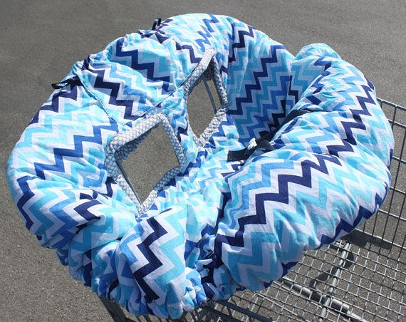 Shopping Cart/High Chair Cover by KenKierDesigns on Etsy