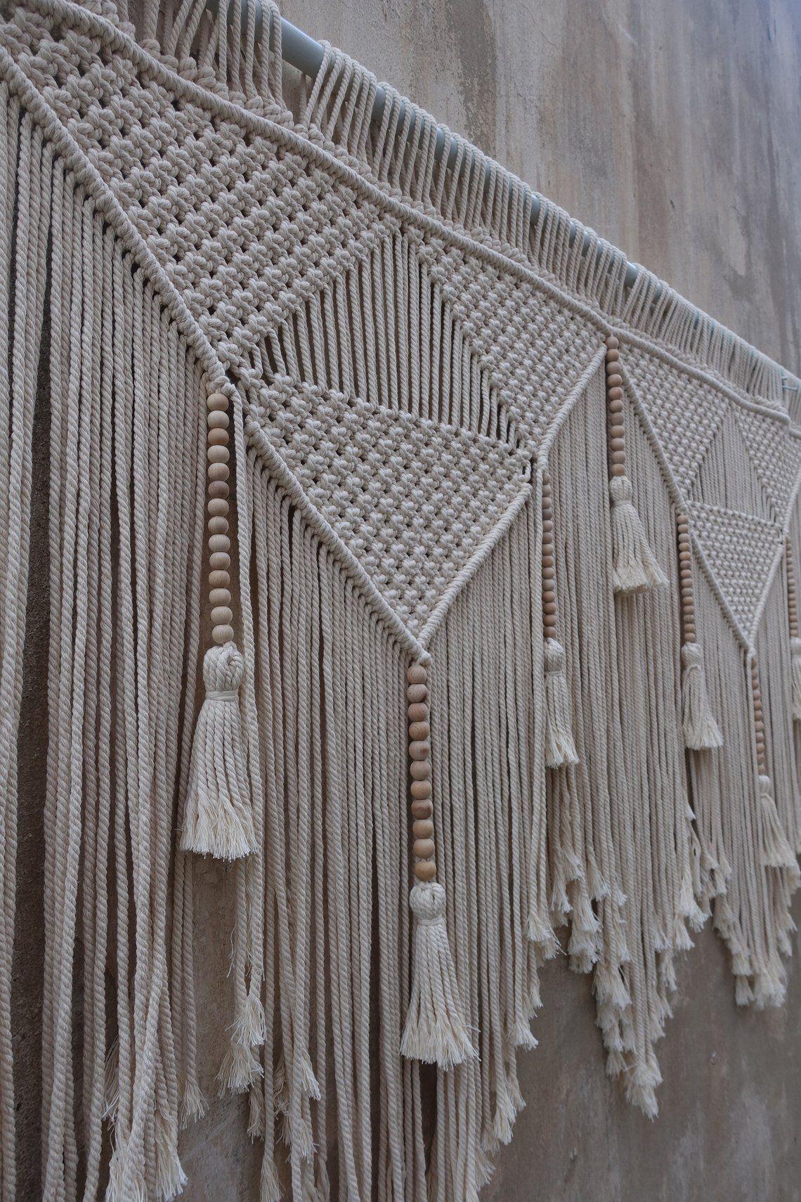 Hanging Tapestry Headboard