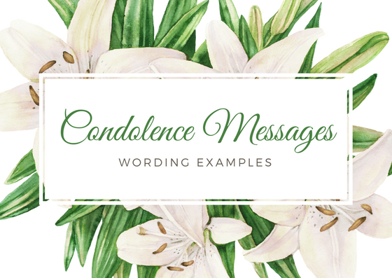 condolence messages  what to say in a sympathy card