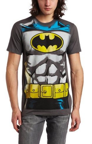 Batman Tshirt – Bioworld Men's Batman Muscle Costume Te | Batman T Shirt