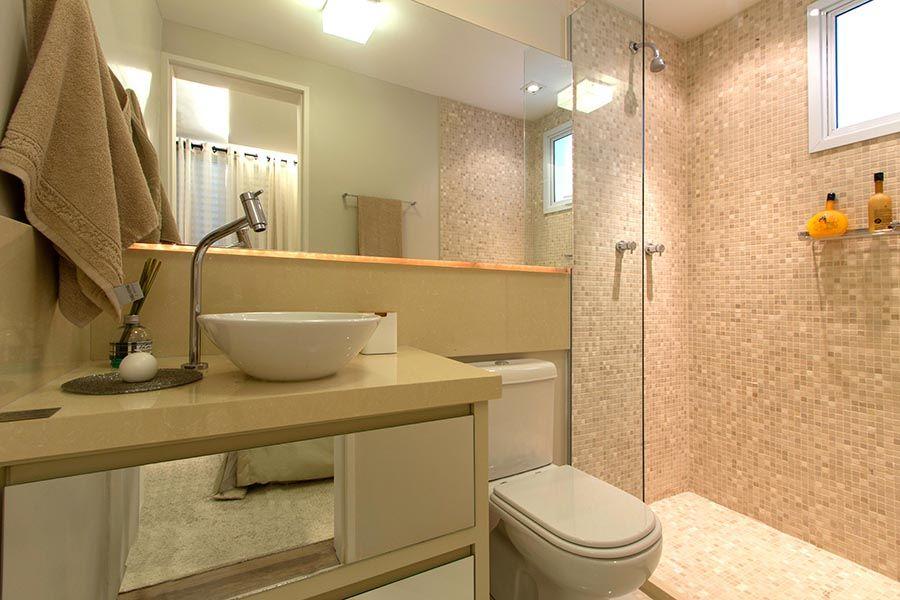 banheirosuiteportaldopaco  Ideias para a casa  Pinterest  Portal -> Banheiro Suíte Decorado