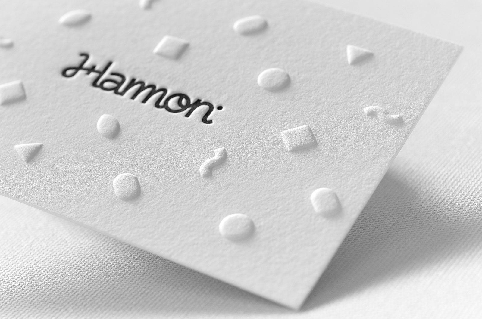 Stunning Embossed Letterpress Business Card | Letterpresses ...