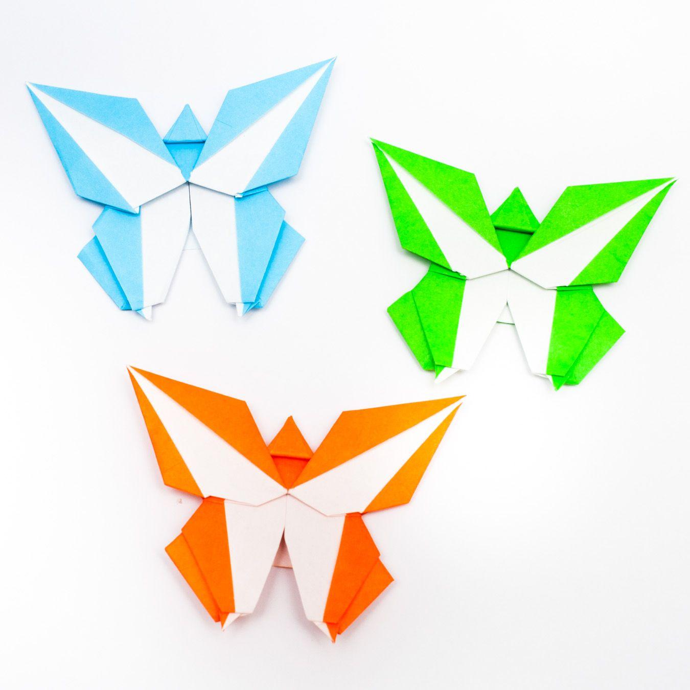 Origami Butterfly Bookmark - วิธีพับกระดาษเป็นที่คั่น ... - photo#35