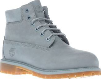 Timberland Pale Blue 6 Inch Premium Unisex Junior Timberland keep little  feet protected in their iconic tough boots, as their 6 Inch Premium arrives  ...
