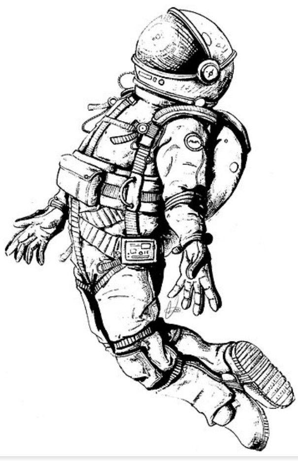 Tom Astronaut | Pedal art | Astronaut tattoo, Astronaut ...