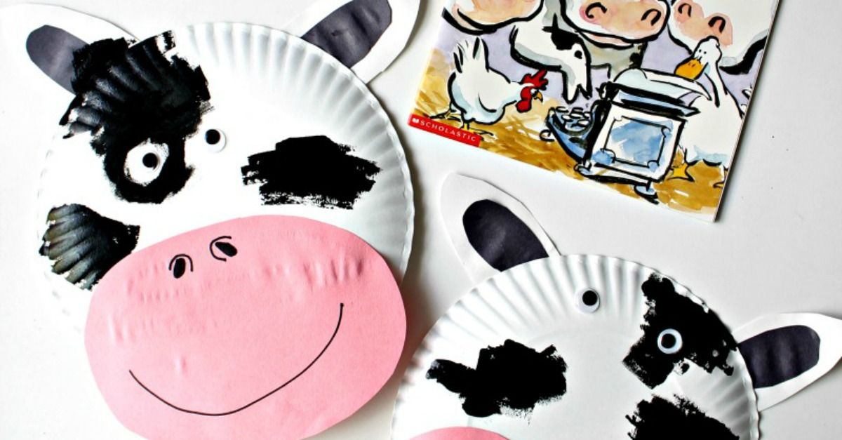 Click Clack Moo Cows That Type Cow Paper Plate Mask  sc 1 st  Pinterest & Click Clack Moo Cows That Type Cow Paper Plate Mask | Paper plate ...