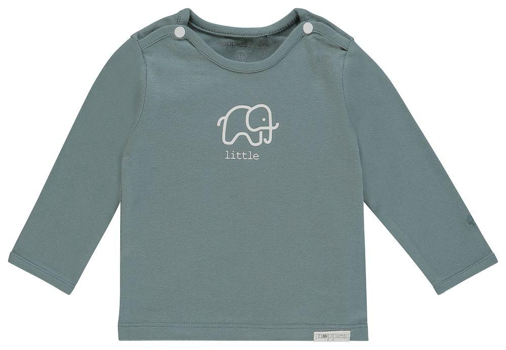 Baby Kinder Wende Langarmshirt Bio-Baumwolle Top Oberteil T-shirt Jungen Mädchen