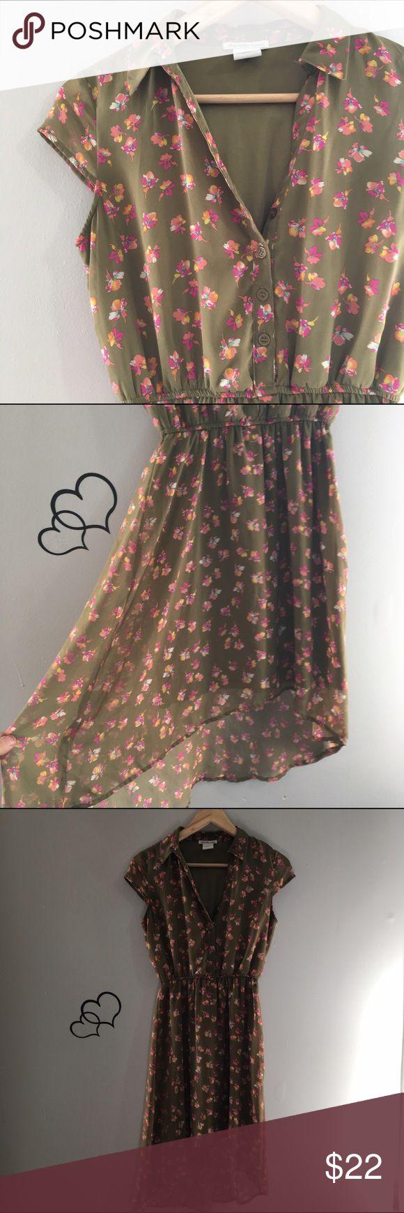 Selling this Floral High Low Dress on Poshmark! My username is: infinitelyposh. #shopmycloset #poshmark #fashion #shopping #style #forsale #Dresses & Skirts