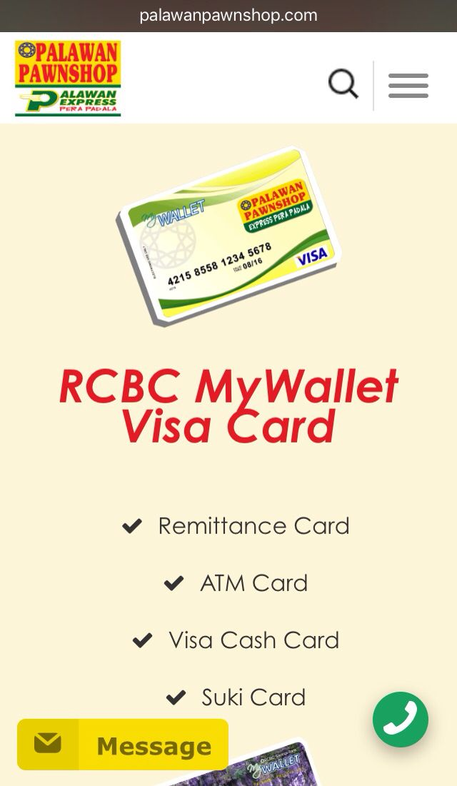 RCBC #MyWallet and Palawan Pawnshop Joint Venture u003d Palawan - joint venture template