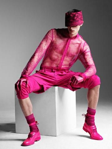 Men In Pink | Source Photo - ACF | https://delores-designs.com/blogs/news/men-in-pink