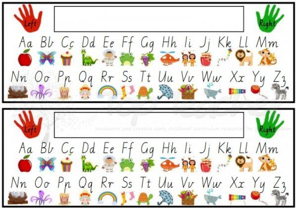 Printable Alphabet Desk Strip Future class Alphabet pictures