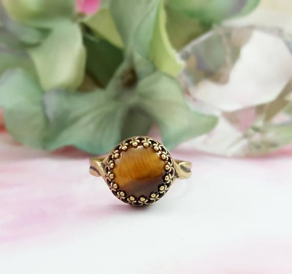 Tiger's Eye Crystal Brown Love Heart Pendant Fit Necklace Silver Plated Flower