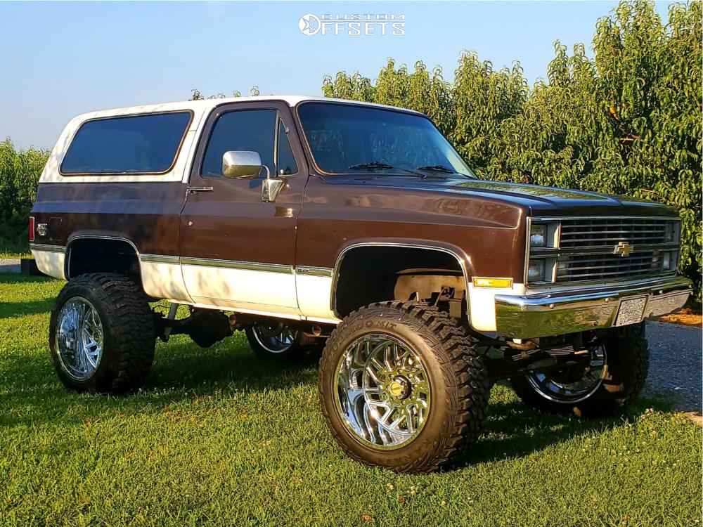 1 1984 K5 Blazer Chevrolet Rough Country Suspension Lift 8in Tis