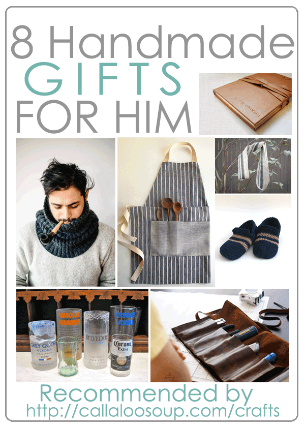 8 diy gifts for him as recommended by callaloo soup