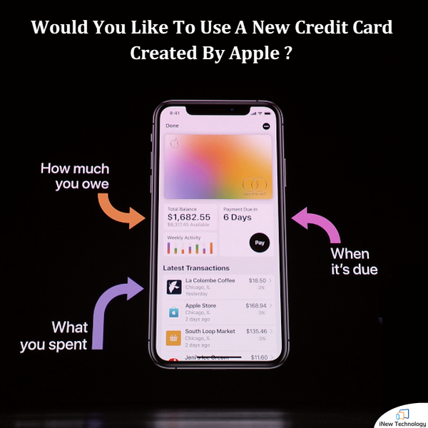 Apple Card, A New Credit Card Will Make It Easier For