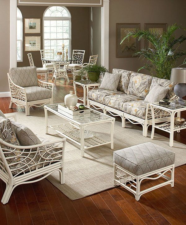 white rattan is perfect for the lanai braxton culler