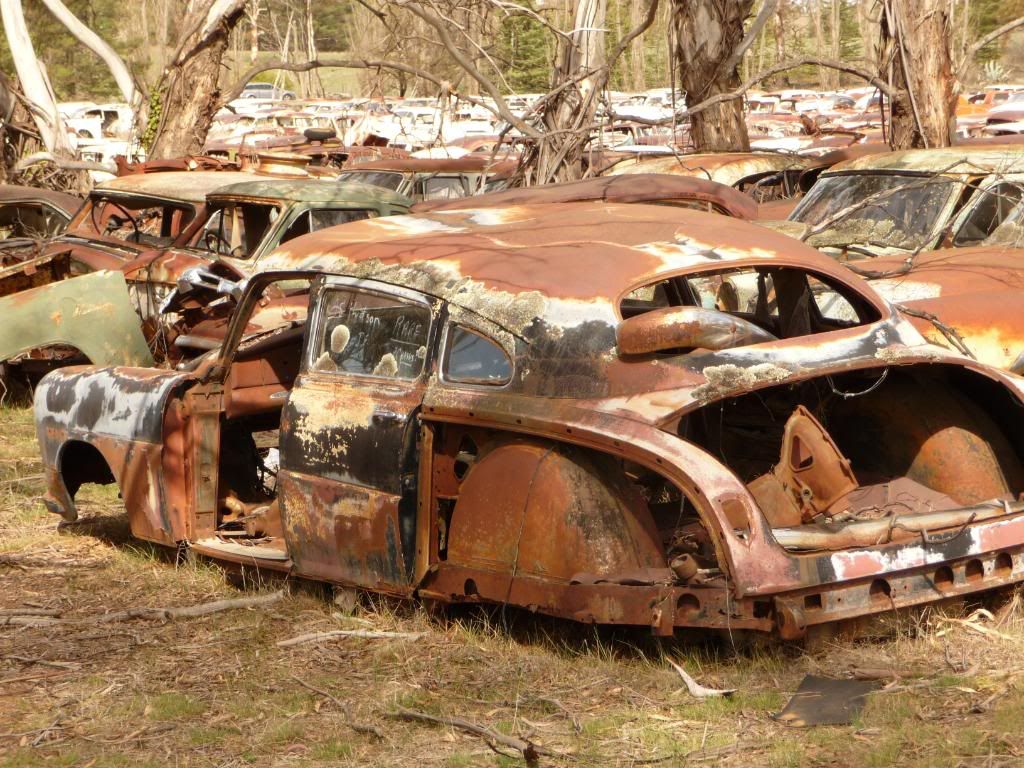 old rusty things from the past | Pics of Rusty old cars thread ...
