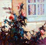 Roses by Trisha Adams Oil ~ 30 x 30