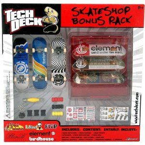 banc et Ben – Rampes pour Tech Deck Boards quart Tech Deck-Build-a-Park