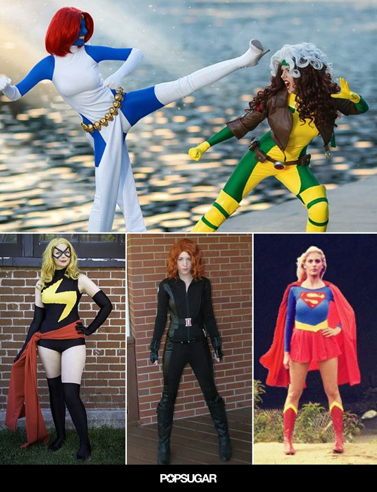 Comic Book Costumes That Go Above and Beyond Halloween costumes - halloween costumes ideas