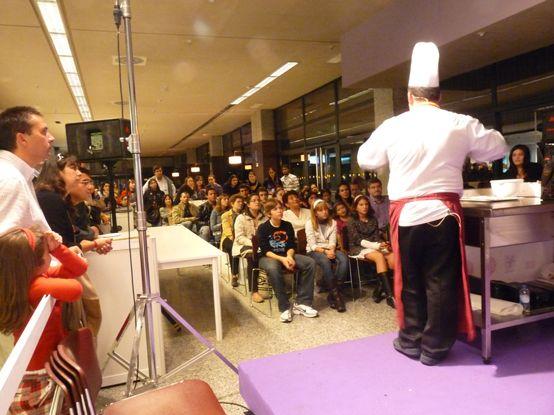Tino Helguera. Maestro pastelero. VII Salón del Chocolate de Madrid en Moda Shopping. @Chocoadictos.