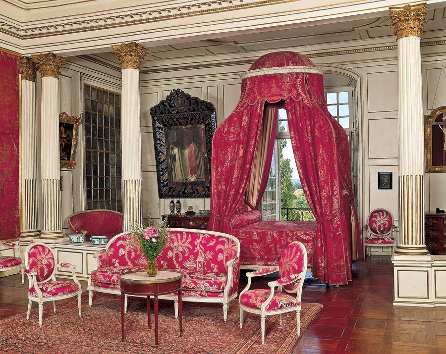 Intérieur Du Château D Ussé Classical Interior Design