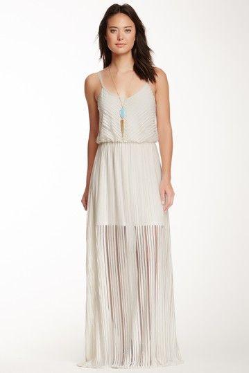 S.H.E Diagonal Stripe Maxi Dress on HauteLook
