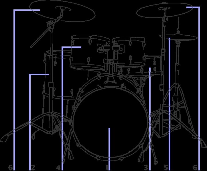 Drum Wet Kit Diagram