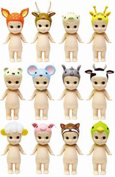 Sonny Angel - Animal Series, série 2  24 craquantes petites figurines à collectionner (+ 1 figurine secrète par série).  Laquelle recevrez-vous ? Mystère ! Vous le découvrirez en ouvrant la boîte... Taille: env. 8cm /// 8.90€