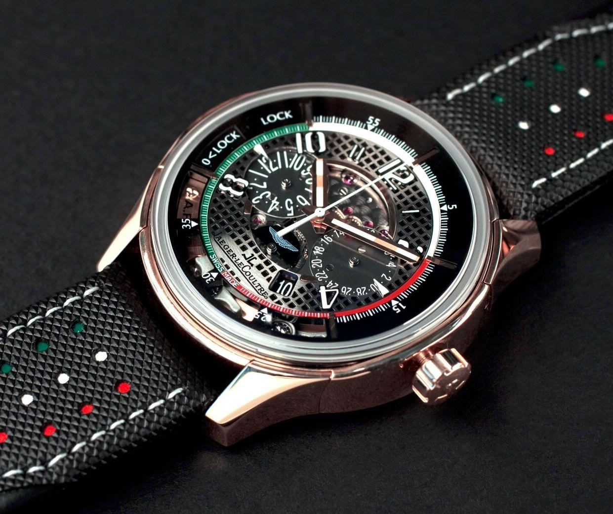 0b7b02d0ecf Jaeger-LeCoulter AMVOX2 Grand Chronograph is inspired by Aston Martin  racing driver