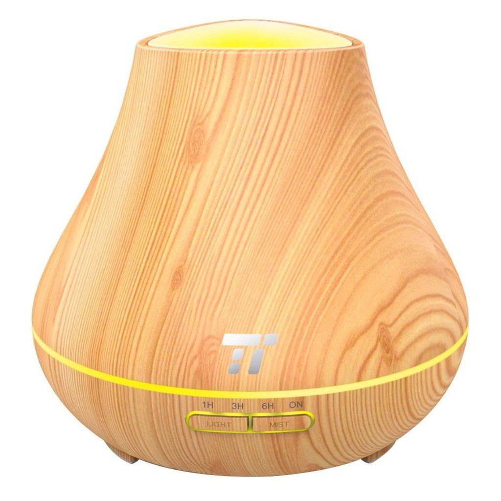 PP Construction For Safe Use: Rest reassured with an essential oil diffuser that's made of the same material of baby bottles; the polypropylene build won't get corroded by any essential oil. 400ml Capacity For Up to 14 Hours Of Mist: Enjoy up to 14 hours of purified air with a 400ml water tank that's vaster than the 300ml capacity of most similar products. Soother