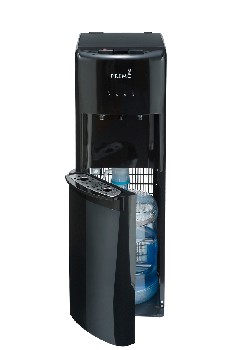Primo Bottom Loading Hot Cold Water Dispenser Black Walmart Com In 2020 Water Dispenser Cold Water Dispenser