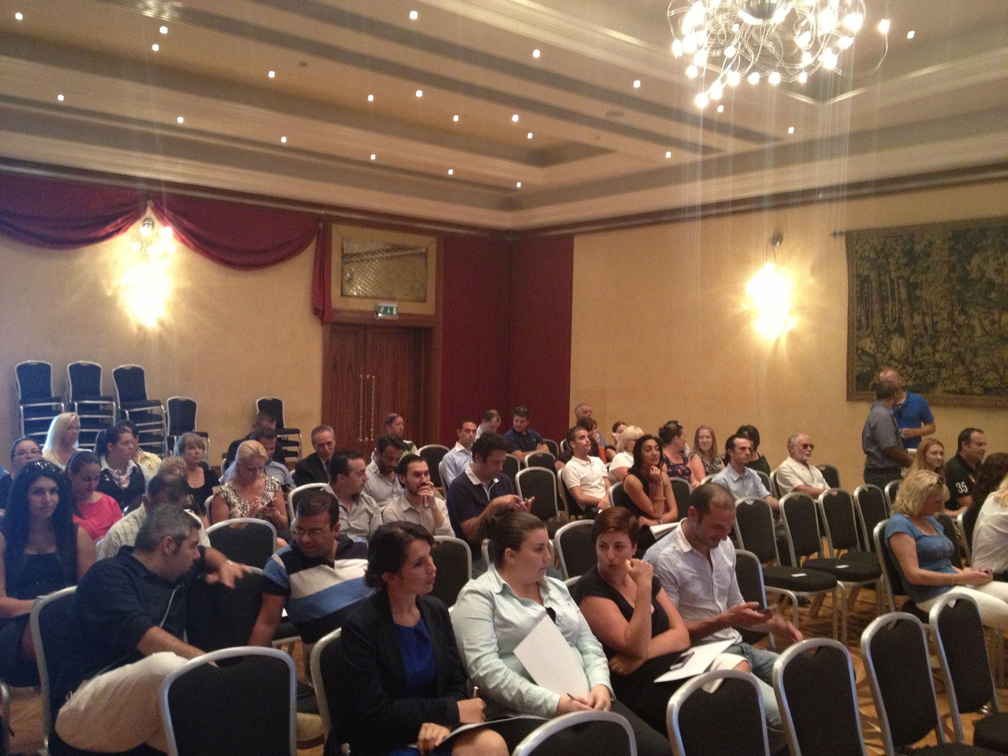 Local tourism businesses invited to the social media presentation for Azure at Radisson SAS hotel Malta